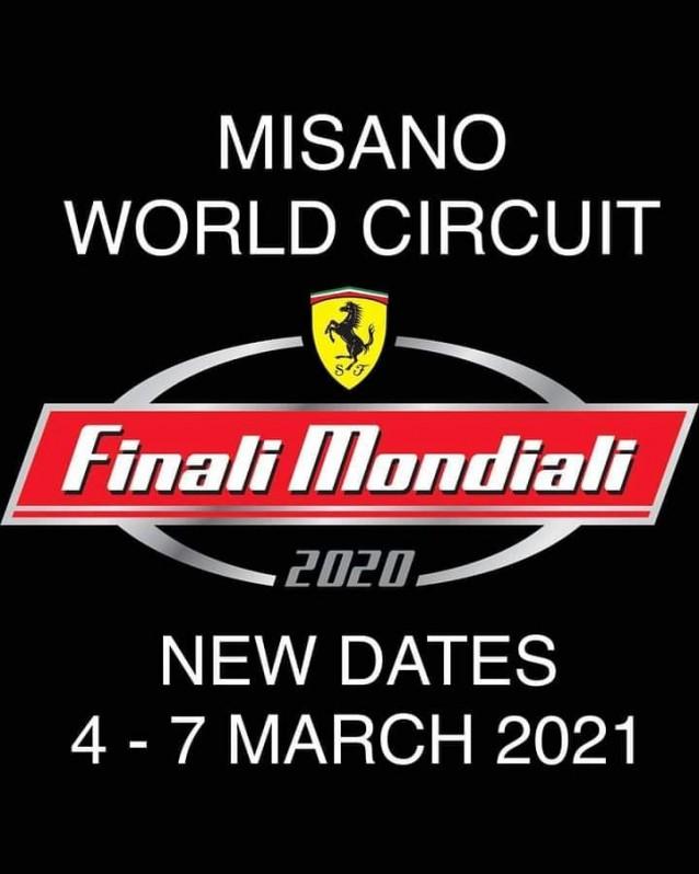 Finales Mundiales Ferrari 2020 - Misano Word Circuit