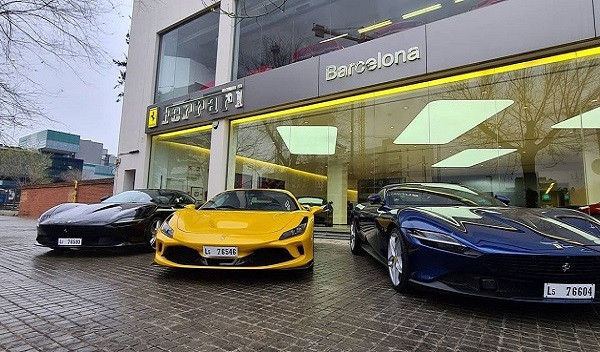 Visita a Cars Gallery - Barcelona