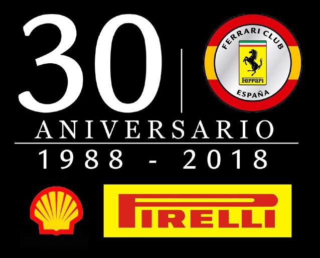 30 aniversario Ferrari Clu España