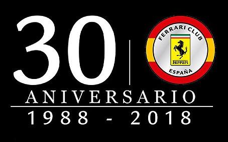30 aniversario Ferrari Club España