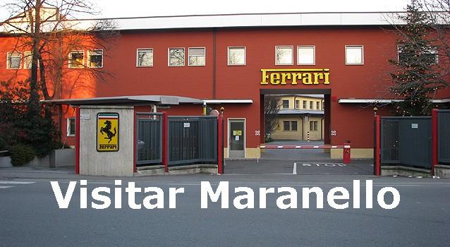 Visitar el Complejo Ferrari en Maranello