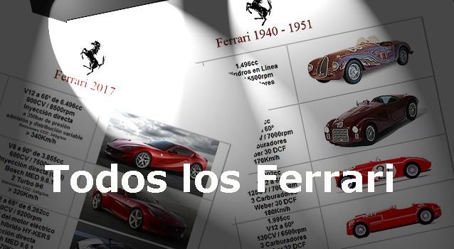 Todos los Ferrari
